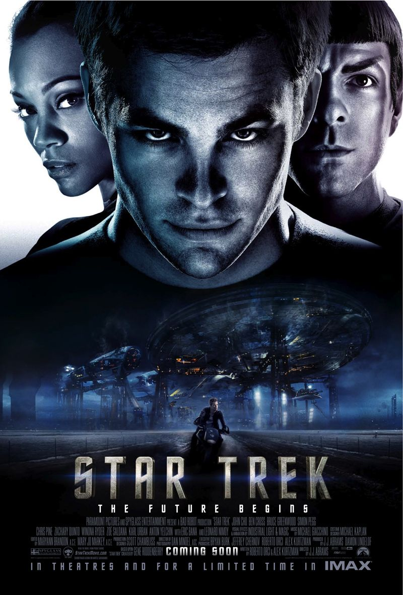 Póster de Star Trek (2009). Imagen: impawards.com