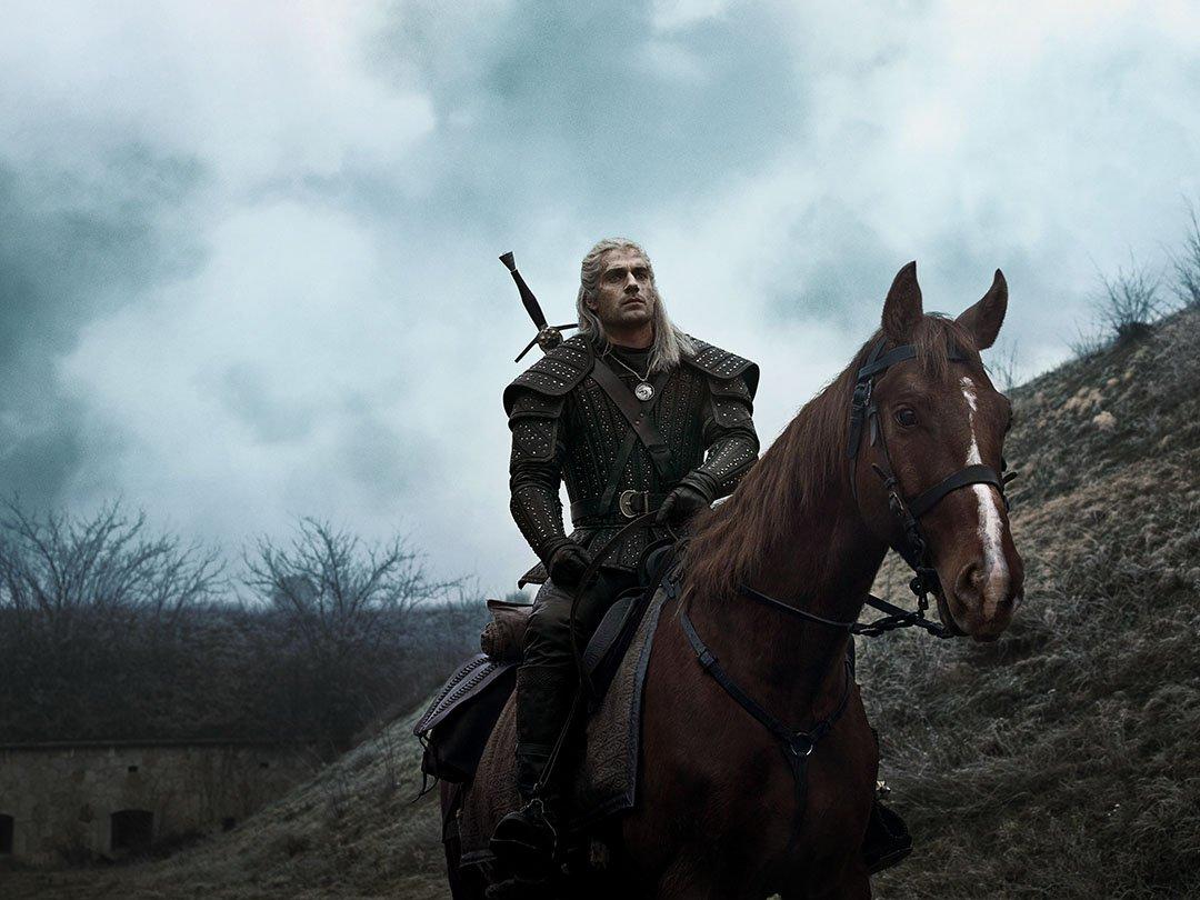 Geralt de Rivia (Henry Cavill) en The Witcher. Imagen: The Witcher Netflix (witchernetflix).