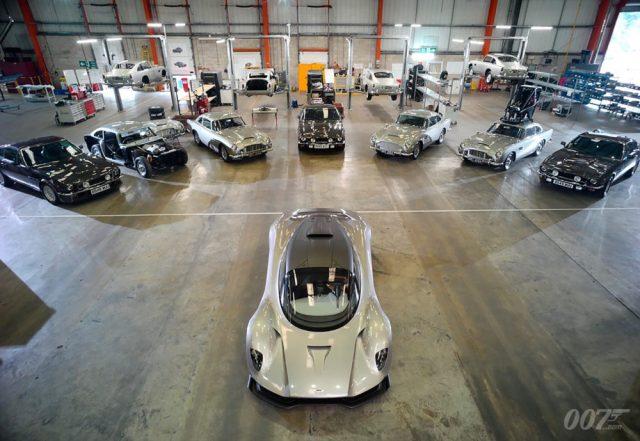 Entre los autos que veremos en No Time to Die (2020) están el Aston Martin DB5, el Aston Martin V8 y el Aston Martin Valhalla. Imagen: 007.com