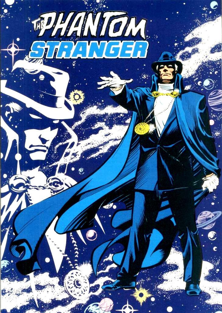 The Phantom Stranger ha sido publicado por DC Comics y Vertigo. Imagen: dc.fandom.com