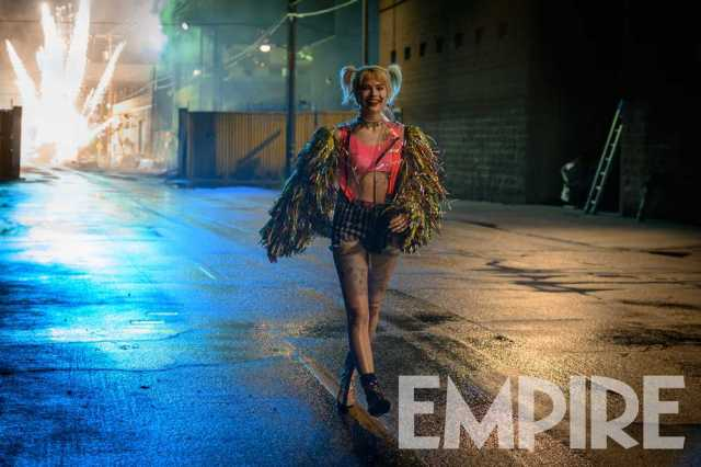 Margot Robbie como Harley Quinn en Birds of Prey (2020). Imagen: Empire Magazine