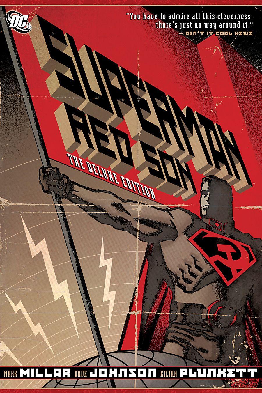 Tomo recopilatorio de Superman: Red Son (2003). Imagen: pinterest.com