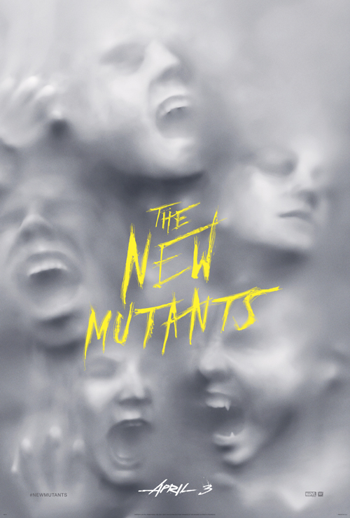Póster de The New Mutants (2020). Imagen: foxmovies.com