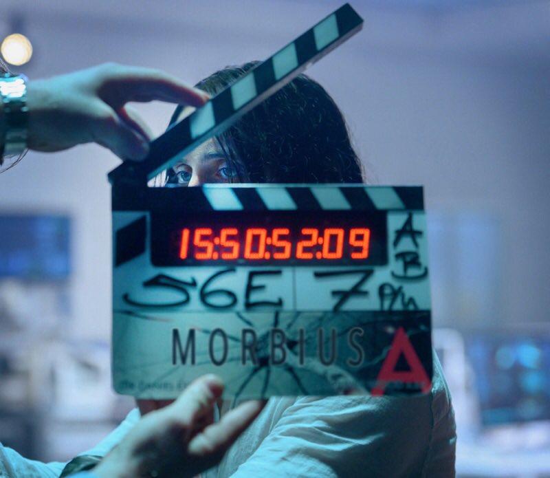 Jared Leto en el set de Morbius (2020). Imagen: Jared Leto Twitter (@JaredLeto).