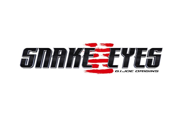 Logotipo de Snake Eyes: G.I. Joe Origins (2020). Imagen: Paramount Pictures