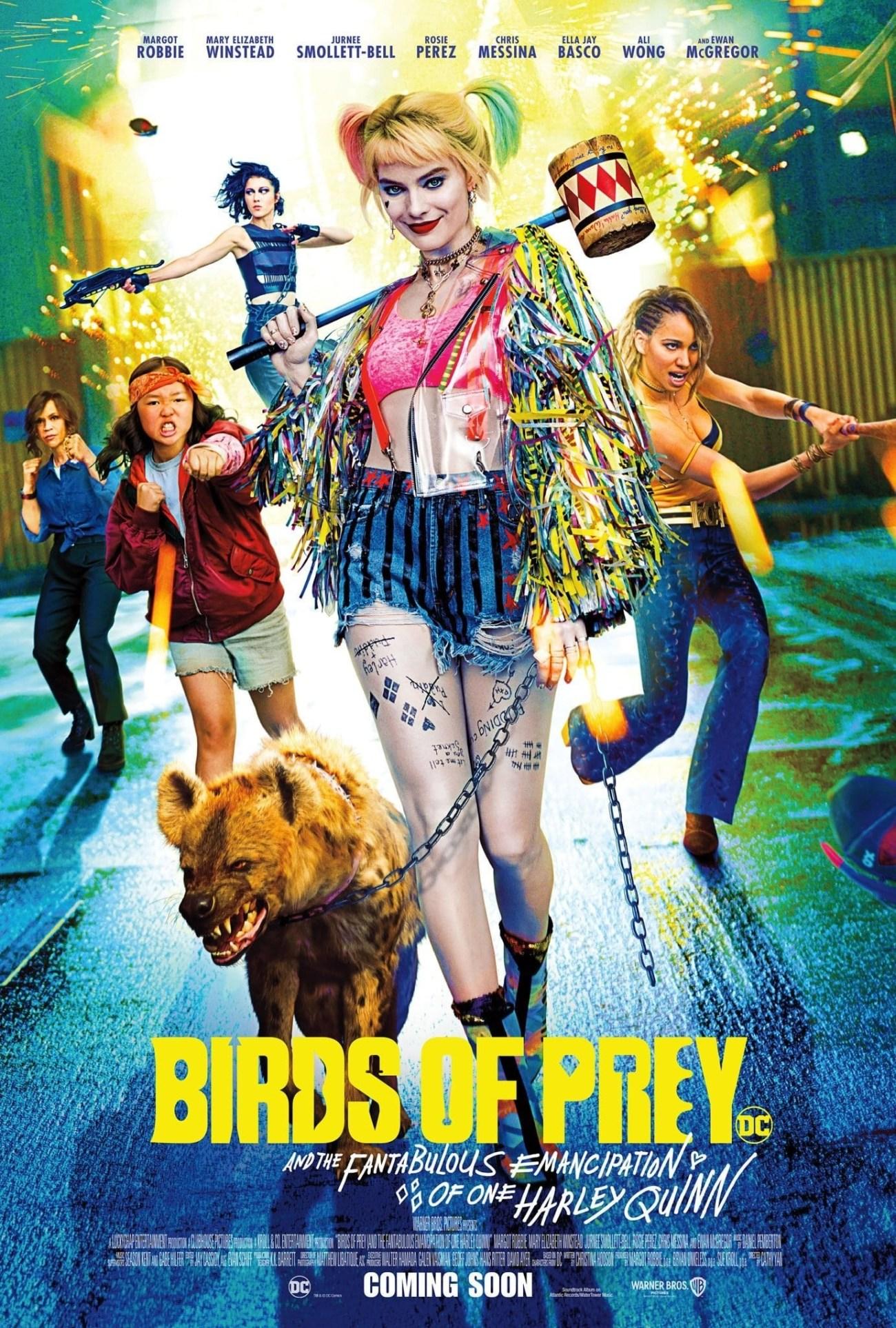 Póster de Birds of Prey (2020). Imagen: impawards.com
