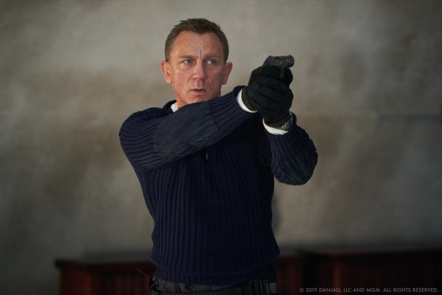 Daniel Craig como James Bond en No Time to Die (2020). Imagen: Danjaq, LLC/MGM