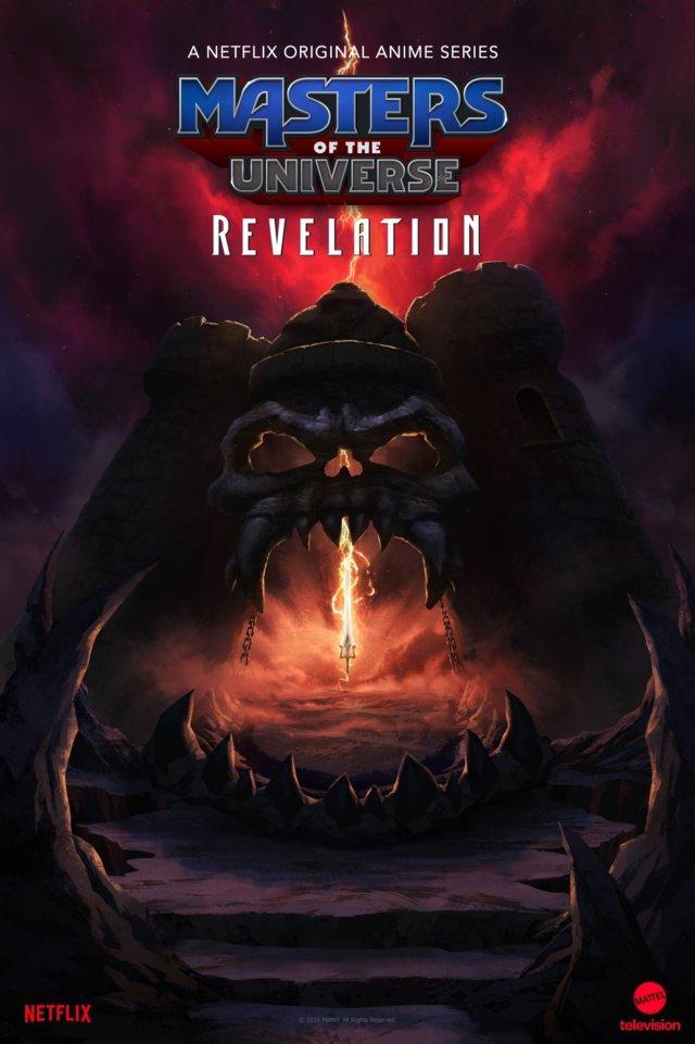 Póster de Masters of the Universe: Revelation. Imagen: NX Twitter (@NXOnNetflix).