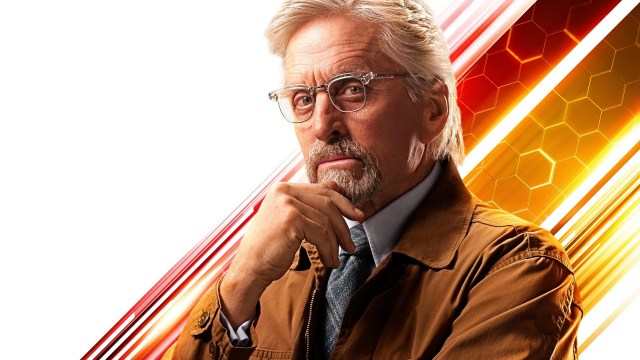 Michael Douglas como el Dr. Hank Pym en Ant-Man and the Wasp (2018). Imagen: fanart.tv