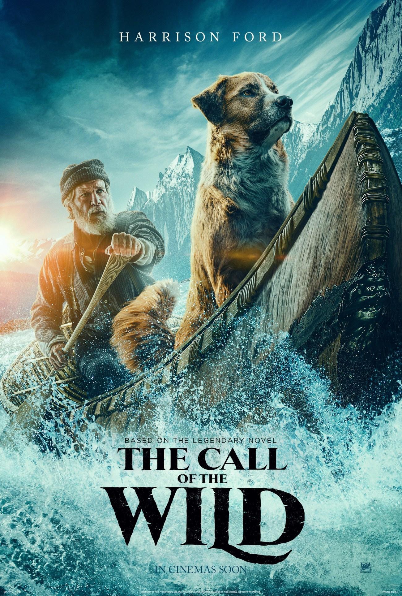 Póster de The Call of the Wild (2020). Imagen: impawards.com