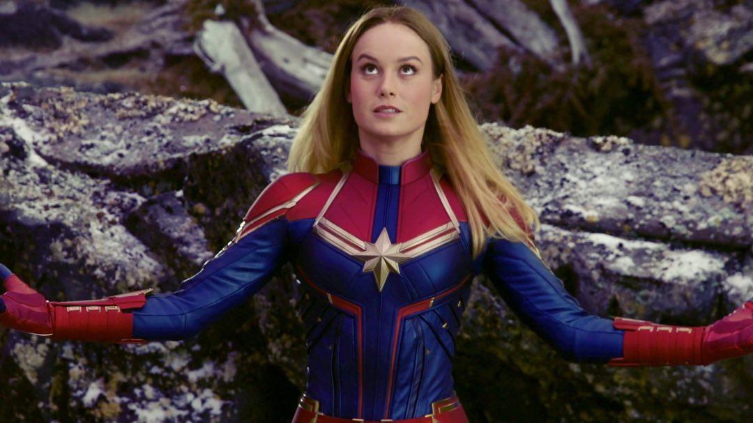 Brie Larson es Carol Danvers/Captain Marvel en el Universo Cinemático Marvel (MCU). Imagen: Brie Larson Instagram (@brielarson).