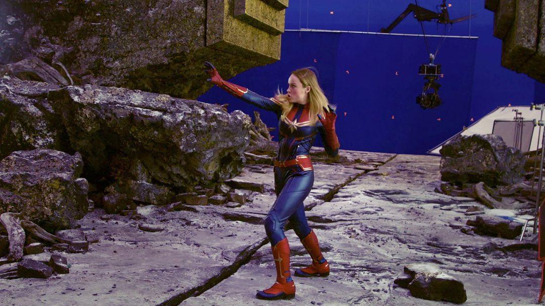 Carol Danvers (interpretada por Brie Larson en el MCU) debutó en Marvel Super-Heroes #13 (marzo de 1968). Imagen: Brie Larson Instagram (@brielarson).