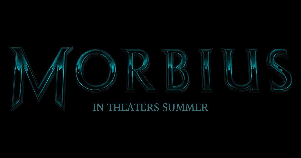 El logotipo de Morbius (2020). Imagen: morbius.movie