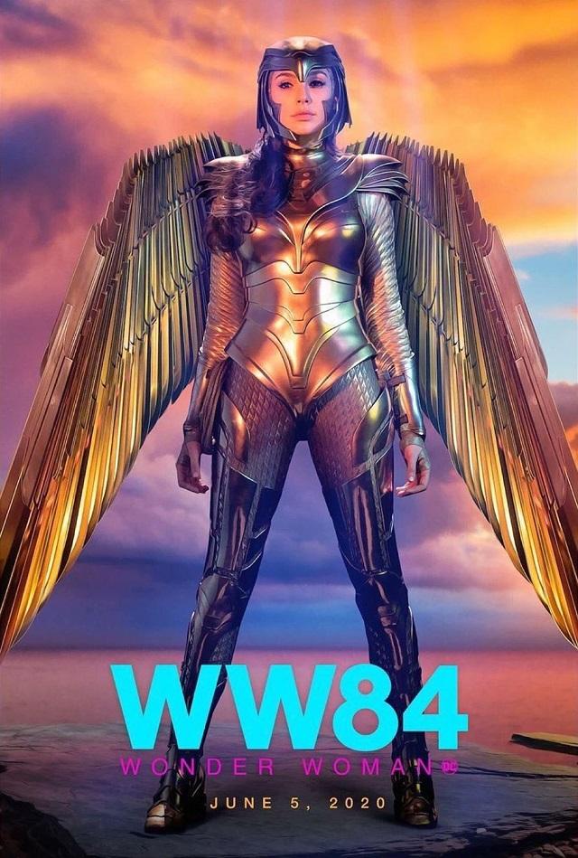 Póster de Wonder Woman (2020). Imagen: ComicBookMovie.com (CBM).