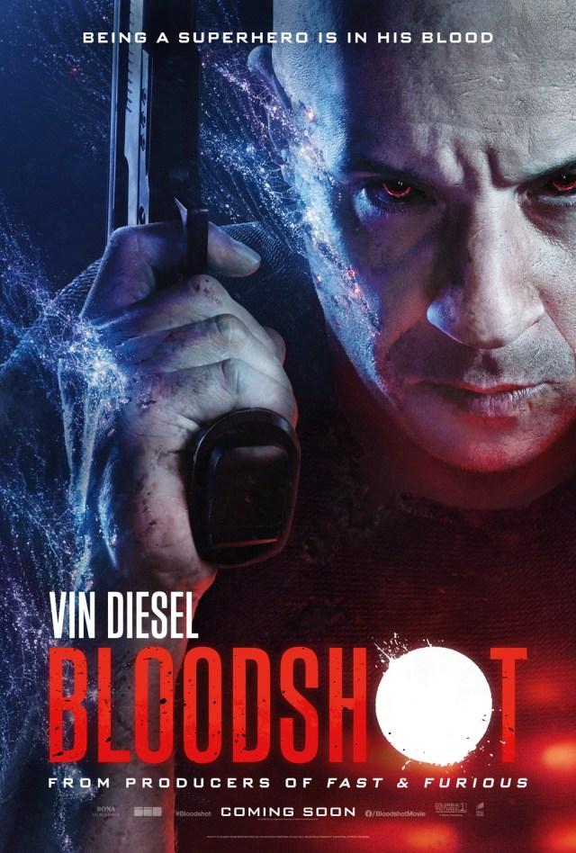 Póster de Bloodshot (2020). Imagen: impawards.com