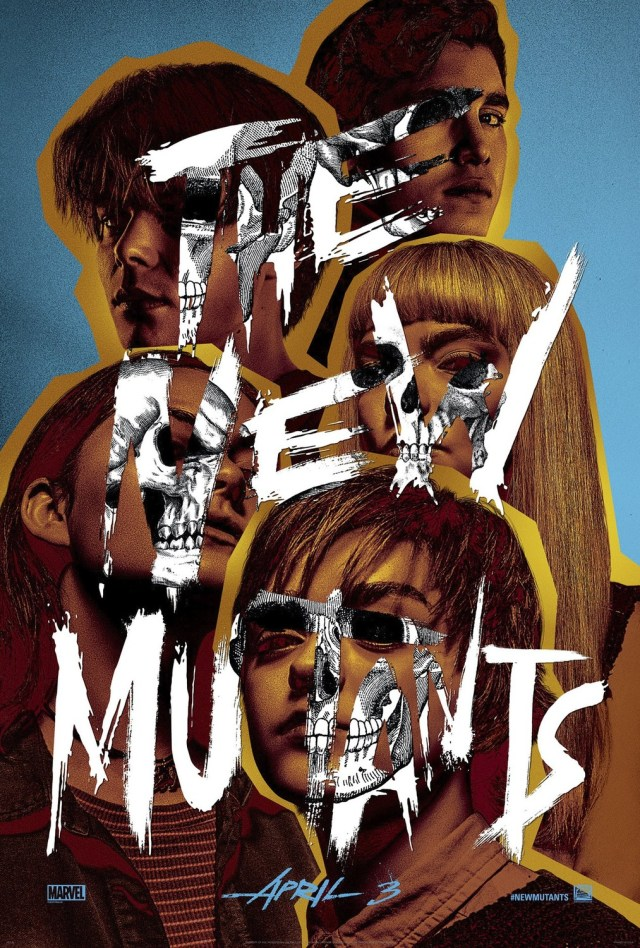 Póster de The New Mutants (2020). Imagen: impawards.com