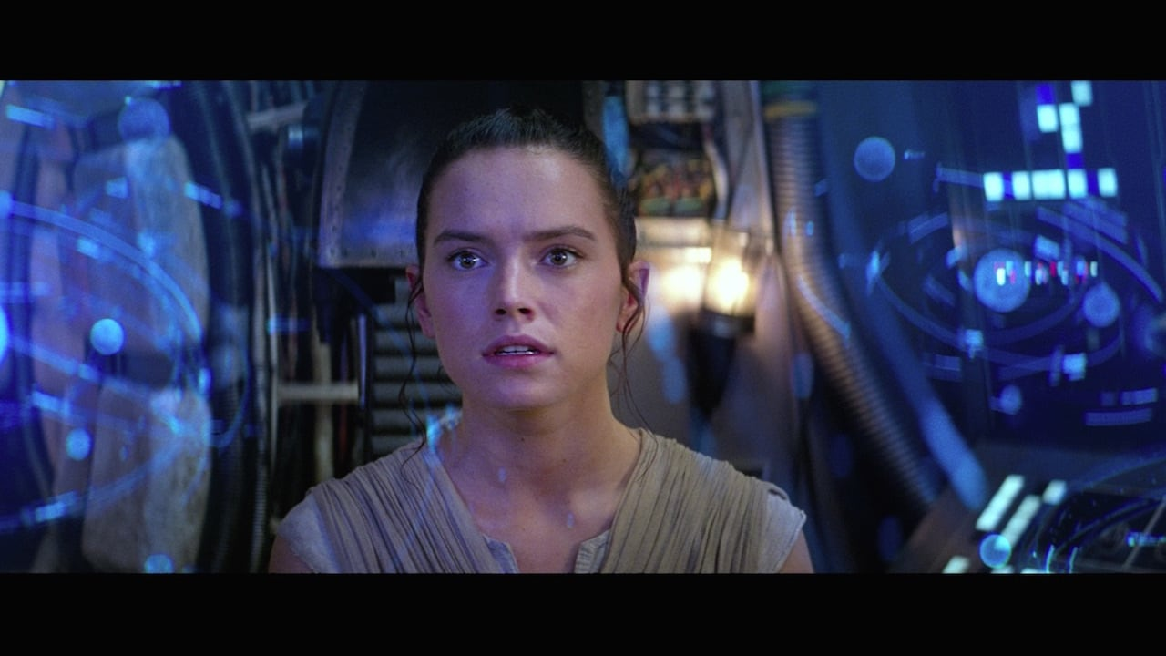 Daisy Ridley como Rey Skywalker. Imagen: StarWars.com
