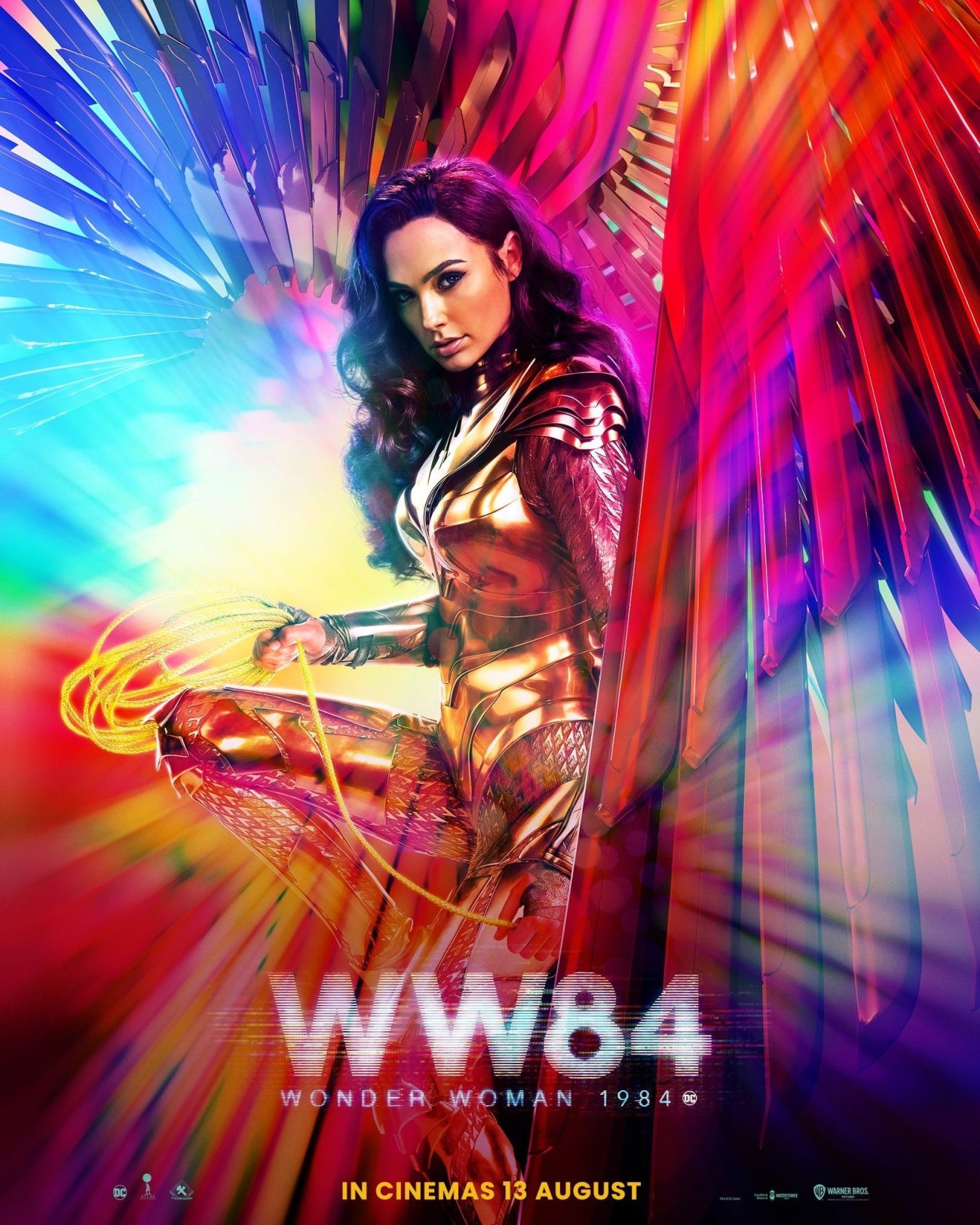 Póster de Wonder Woman 1984 (2020). Imagen: impawards.com
