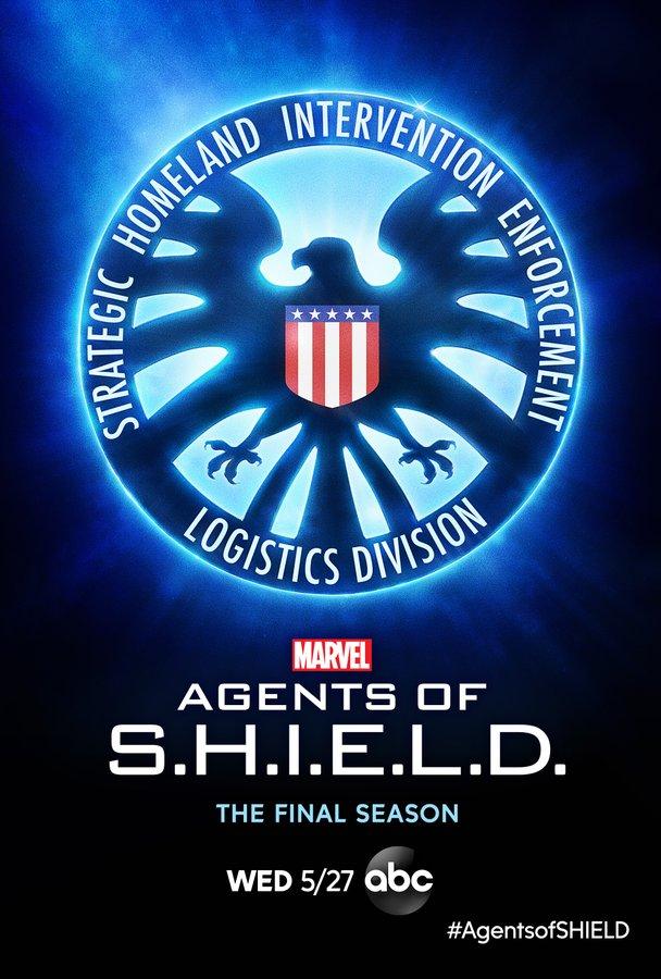 Póster de la temporada 7 de Agents of S.H.I.E.L.D. Imagen: Marvel's Agents of S.H.I.E.L.D. Twitter (@AgentsofSHIELD).