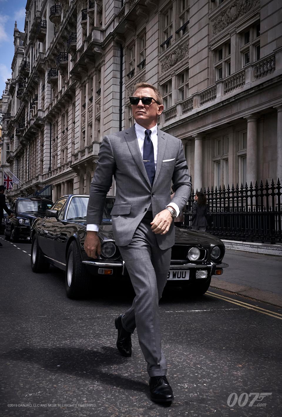 Daniel Craig como James Bond en No Time to Die (2020). Imagen: 007.com