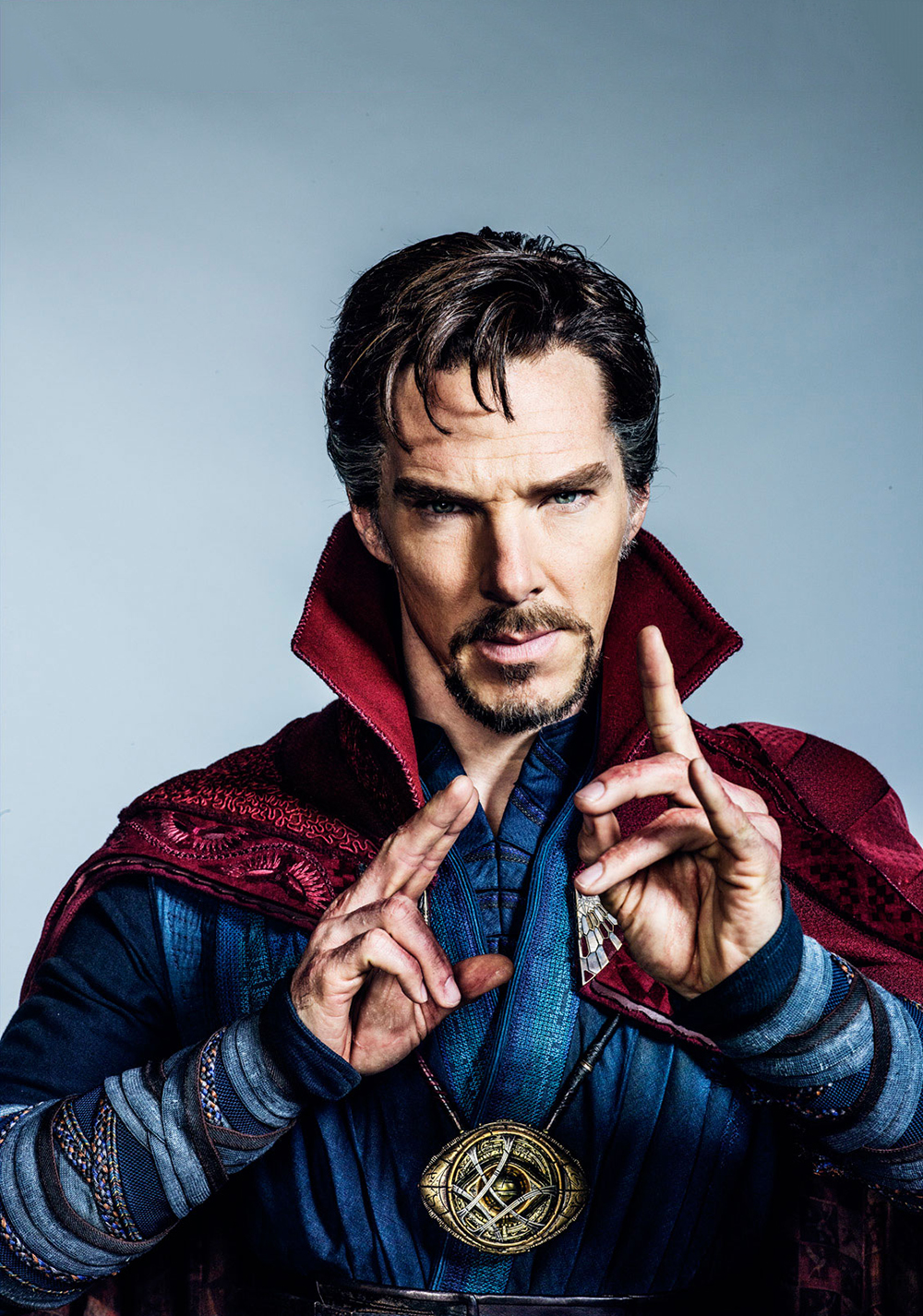 El Dr. Stephen Strange (Benedict Cumberbatch) en Doctor Strange (2016). Imagen: fanart.tv