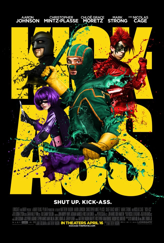Póster promocional de Kick-Ass (2010). Imagen: impawards.com