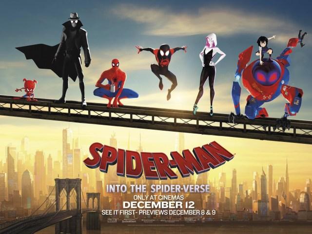 Póster de Spider-Man: Into the Spider-Verse (2018). Imagen: impawards.com