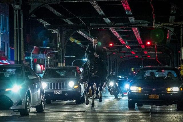 Keanu Reeves como John Wick en John Wick: Chapter 3 – Parabellum (2019). Imagen: IMDb.com