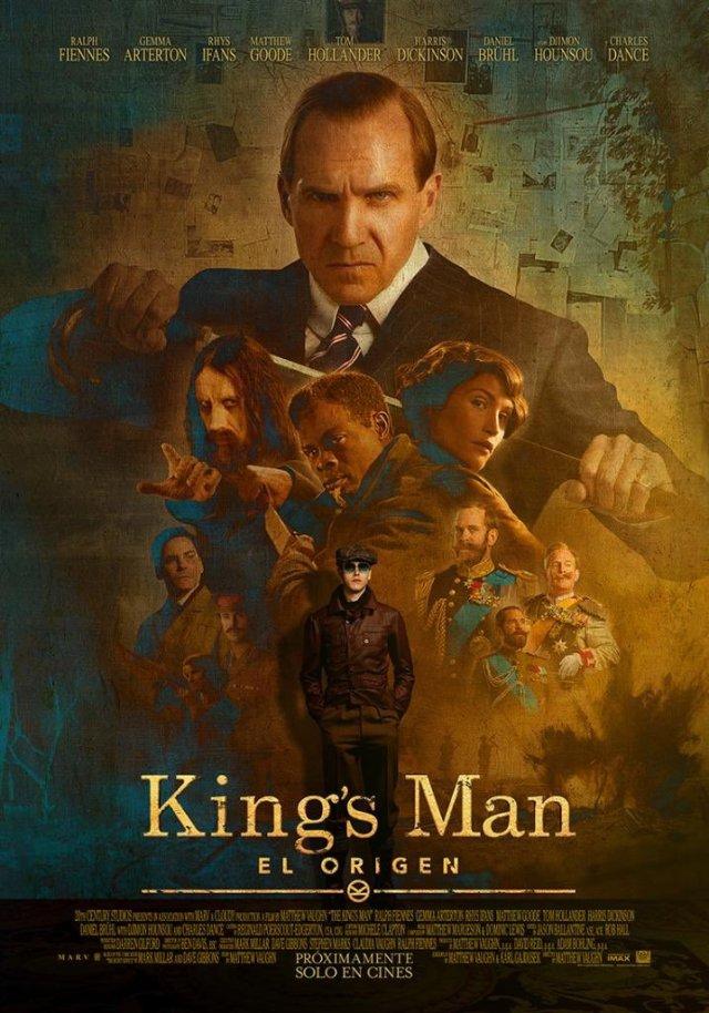 Póster de The King's Man (2020). Imagen: 20th Century Studios LA Twitter (@20thcenturyla).