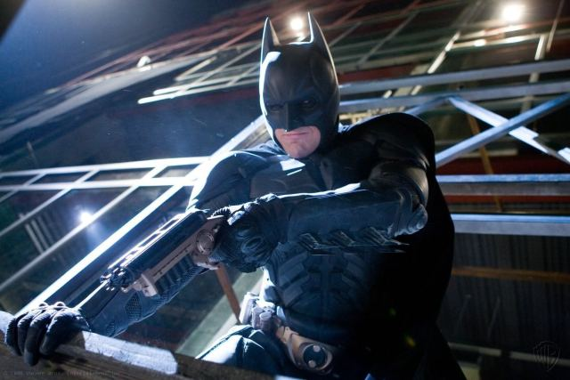 Christian Bale como Batman en The Dark Knight (2008). Imagen: IMDb.com