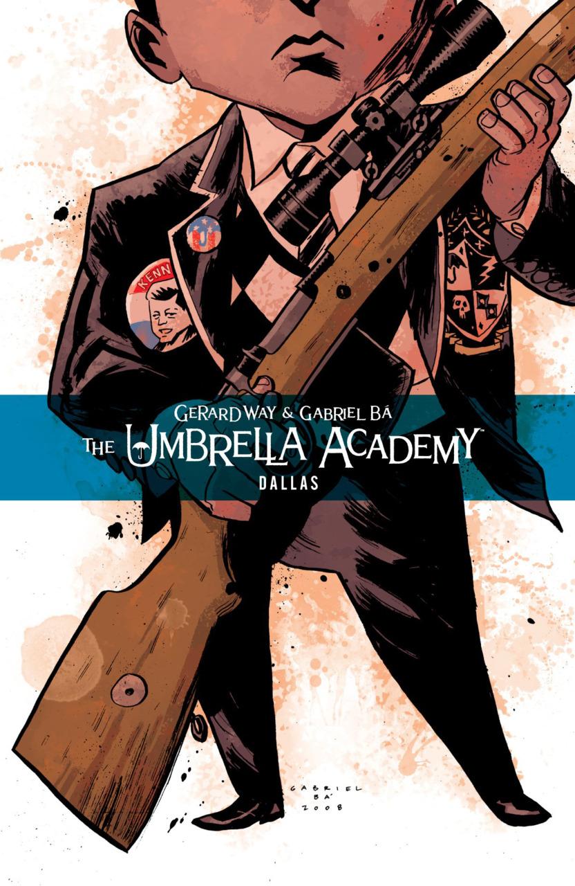 La temporada 2 de The Umbrella Academy adapta el arco argumental titulado Dallas (noviembre de 2008-abril de 2009). Imagen: Comic Vine