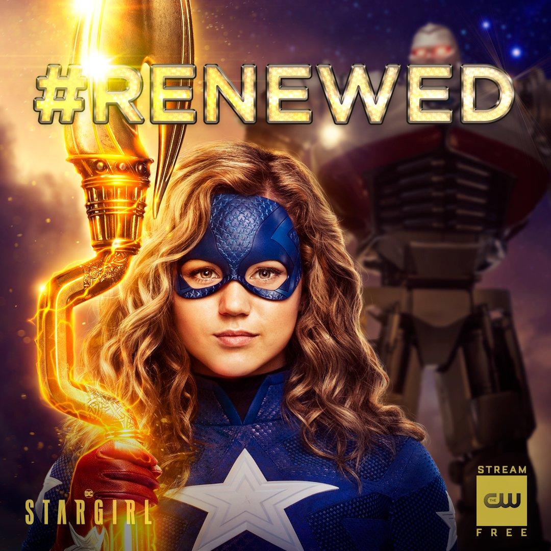 Stargirl renovada para la temporada 2 en The CW. Imagen: Stargirl Twitter (@stargirl_cw).