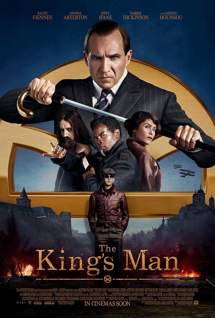 Póster de The King's Man (2020). Imagen: impawards.com