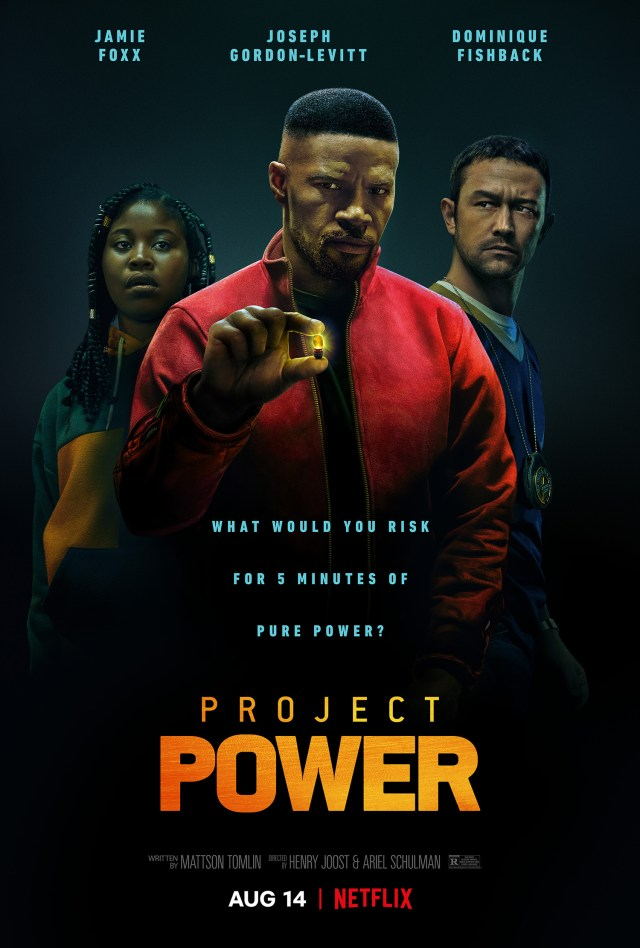 Póster de Project Power (2020). Imagen: impawards.com