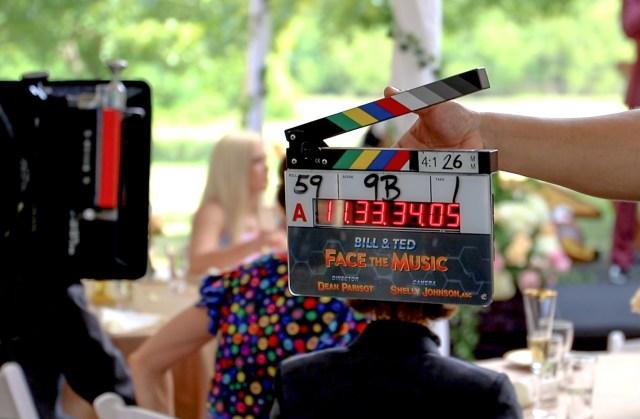 La filmación de Bill & Ted Face the Music (2020) en Nueva Orleáns, Louisiana. Imagen: Bill & Ted 3 Twitter (@BillandTed3).