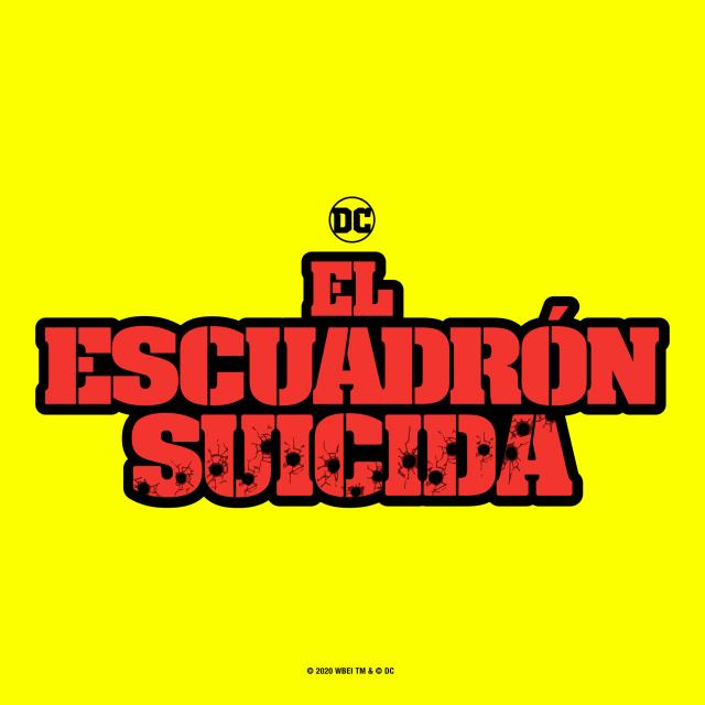 Logotipo en español de The Suicide Squad (2021). Imagen: James Gunn Twitter (@JamesGunn).