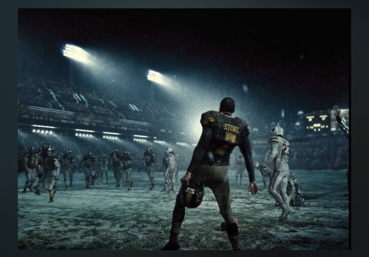 Victor Stone (Ray Fisher) en Zack Snyder's Justice League (2021). Imagen: Geek Vibes Nation Twitter (@GeekVibesNation).