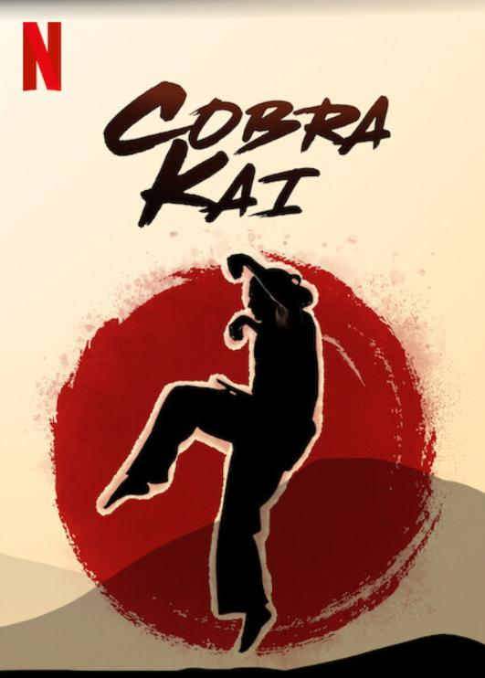 Póster de Cobra Kai en Netflix. Imagen: IMDb.com