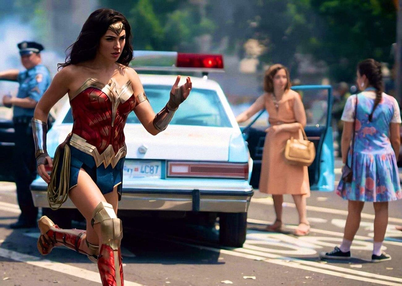 Gal Gadot como Wonder Woman en Wonder Woman 1984 (2020). Imagen: IMDb.com