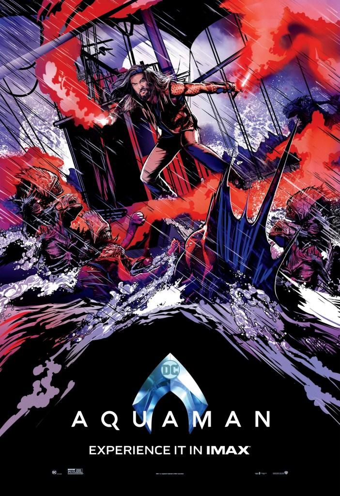 The Trench en un póster IMAX de Aquaman (2018). Imagen: impawards.com