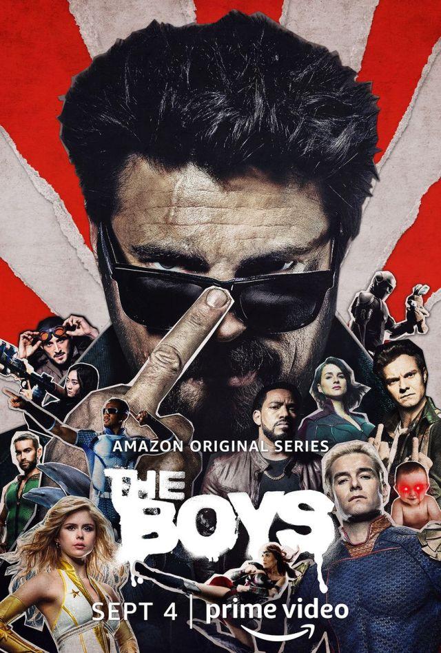 Póster de la temporada 2 de The Boys. Imagen: SpoilerTV