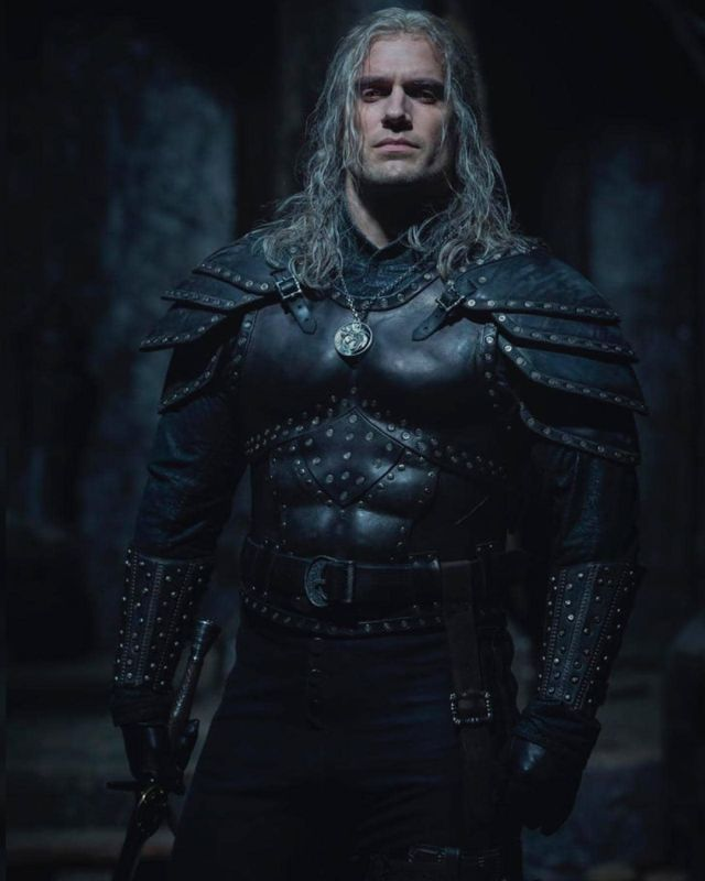 Henry Cavill como Geralt de Rivia en la temporada 2 de The Witcher. Imagen: Henry Cavill Instagram (@henrycavill).