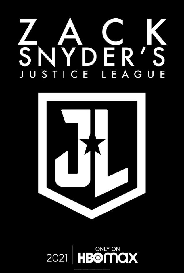 Póster de Zack Snyder's Justice League (2021). Imagen: dccomics.com