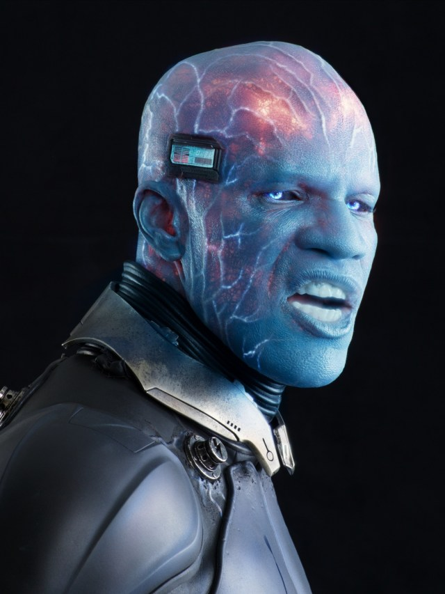 Max Dillon/Electro (Jamie Foxx) en The Amazing Spider-Man 2: Rise of Electro (2014). Imagen: aceshowbiz.com