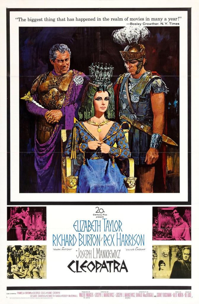 Póster de Cleopatra (1963). Imagen: impawards.com