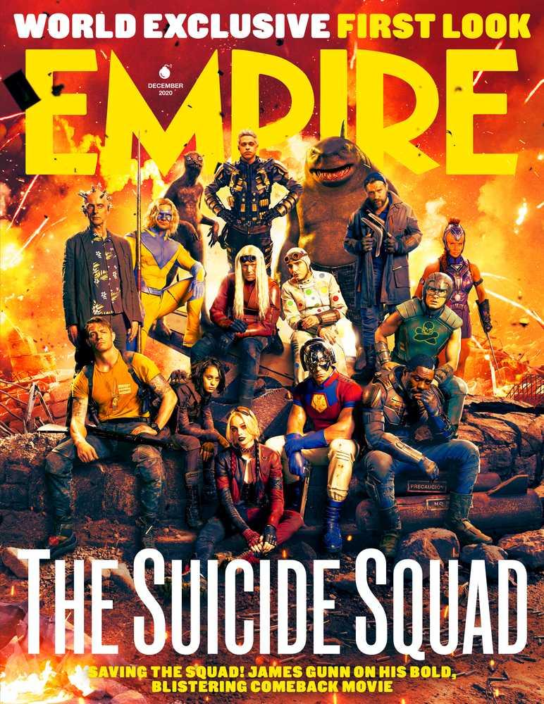 Portada de Empire (diciembre de 2020). Imagen: Empire Magazine