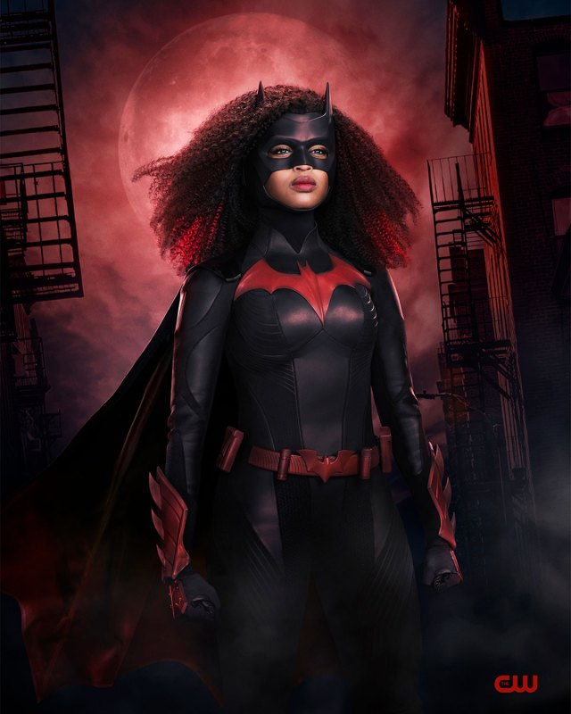 Batwoman/Ryan Wilder (Javicia Leslie) en la segunda temporada de Batwoman. Imagen: Warner Bros. Television/The CW