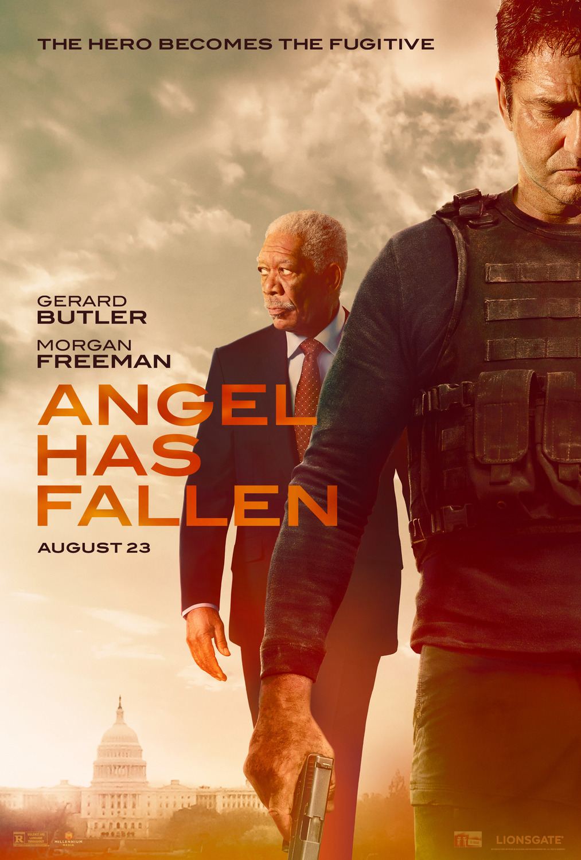 Póster de Angel Has Fallen (2019). Imagen: impawards.com