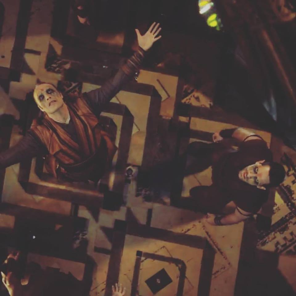 Kaecilius (Mads Mikkelsen) y Lucian Aster (Scott Adkins) en Doctor Strange (2016). Imagen: Martial Arts Action Cinema