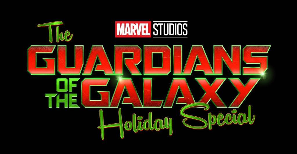 Logotipo de The Guardians of the Galaxy Holiday Special (2022). Imagen: Marvel.com